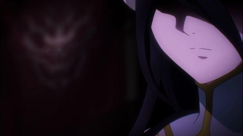 apakah albedo akan mengkhianati ainz ooal gown