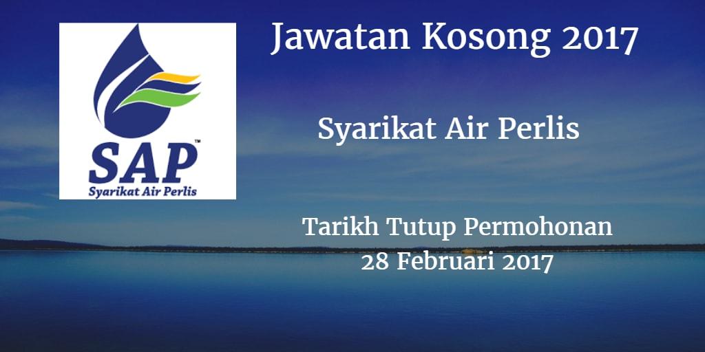Jawatan Kosong Syarikat Air Perlis 28 Februari 2017