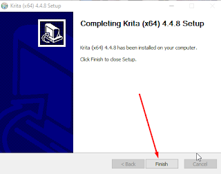 Tutorial install aplikasi krita di laptop windows