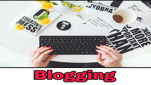 Blogging ( informational website )