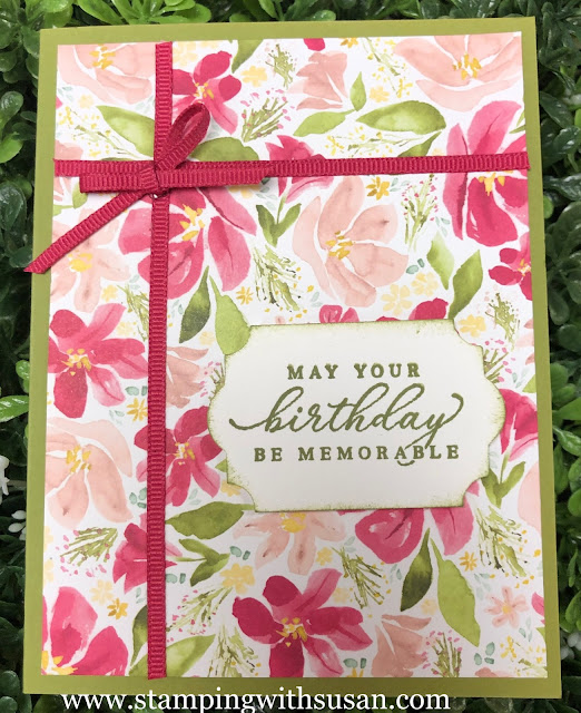 Stampin' Up!, Best Dressed, Timeless Tropical, www.stampingwithsusan.com, 2020 Mini Catalog, Best Dressed,