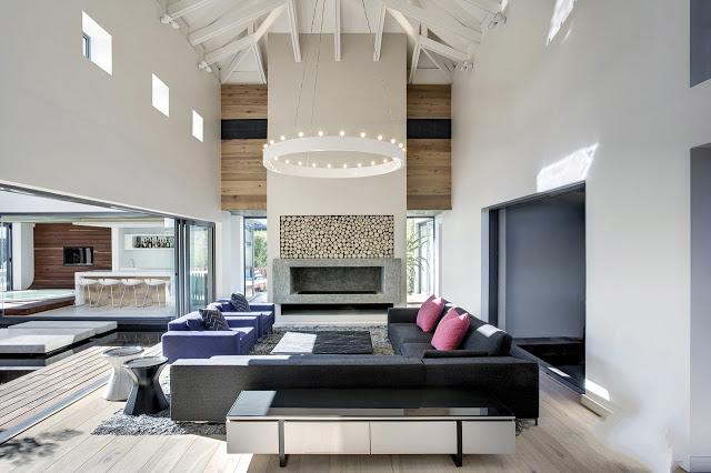 comment décorer une pièce au plafond trop haut