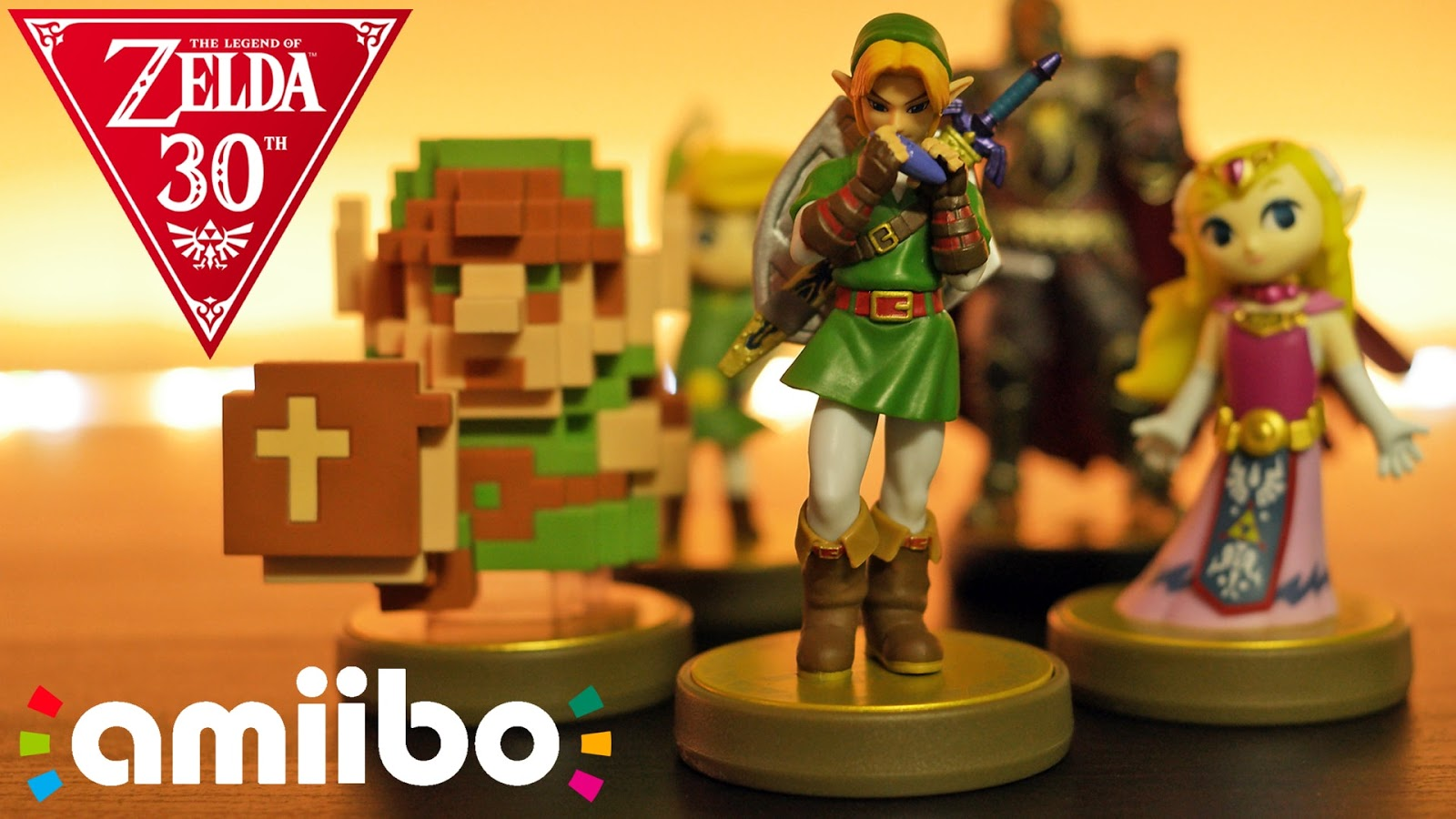 Legend of Zelda 30th Anniversary amiibo hands on 4K video