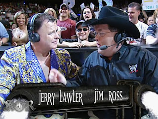 WWE King of the Ring 2002 - Jim Ross and Jerry 'The King' Lawler