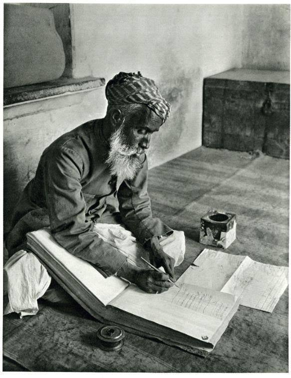Portrait of a Street Banker in Udaipur, India - 1928
