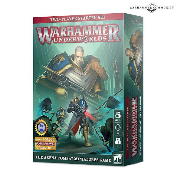 Warhammer Underworlds set 2 jugadores