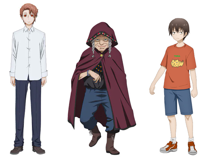 Mieruko-chan anime - personajes
