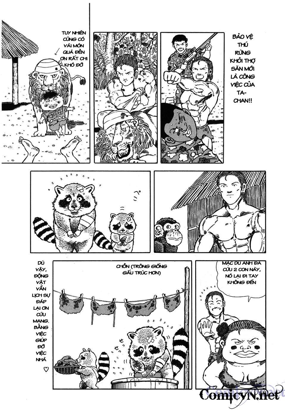 Chúa rừng Ta-chan chapter 6 trang 7