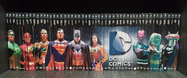 Eaglemoss DC Comic Graphic Novel Collection Spine Art