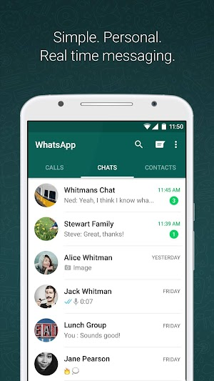 WhatsApp Messenger Download - WhatsApp for Android, Iphone and Windows Phone