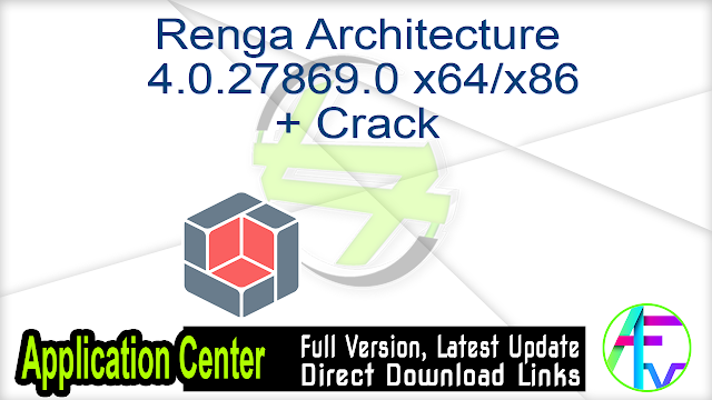 Renga Architecture 4.0.27869.0 x64 -x86 + Crack