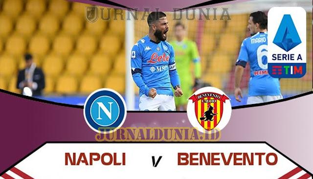 Prediksi Napoli vs Benevento  , Senin 01 Maret 2021 Pukul 00.00 WIB @beIN Sports