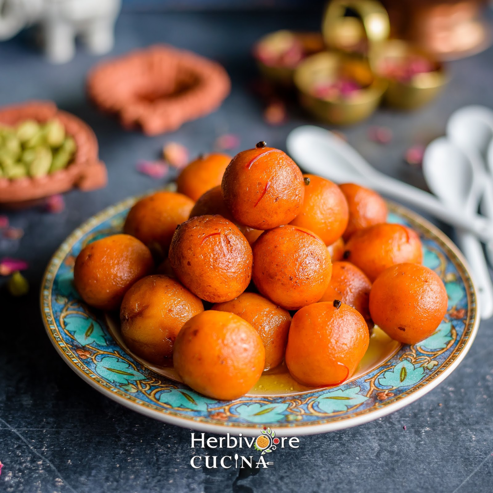how to make gulab jamun with ricotta cheese