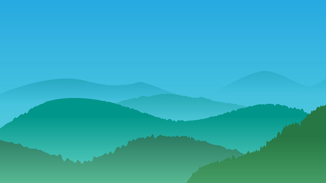 gunung hijau