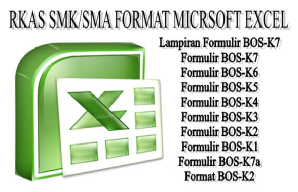 Contoh RKAS SMK Swasta 2017 Microsoft Excel - Galeri Guru