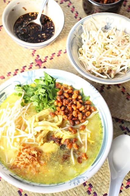 recette de bubur ayam indonésien