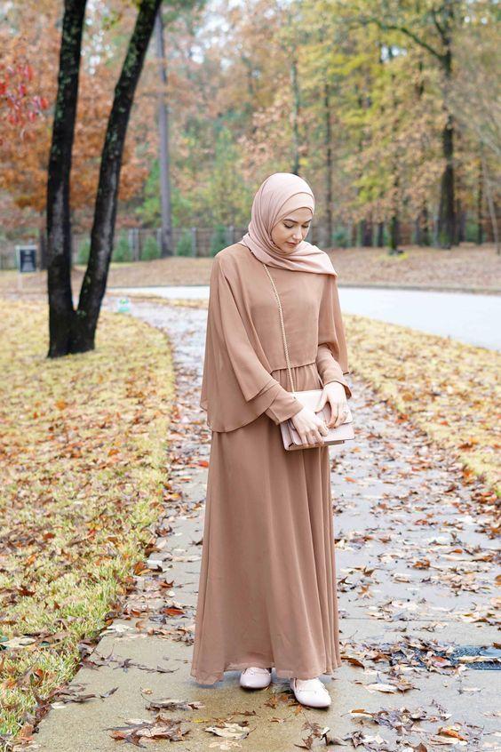 inspirasi trend hijab Remaja casual muslimah