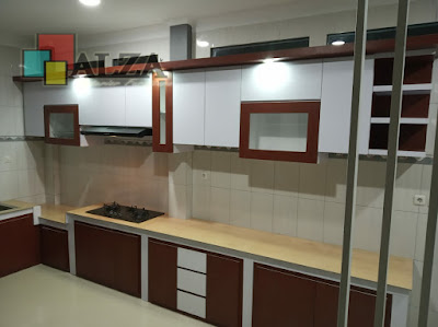 kitchen set model lurus Mojokerto