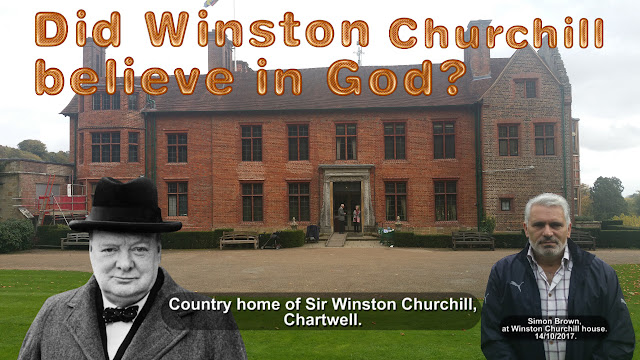 Did Winston Churchill believe in God?