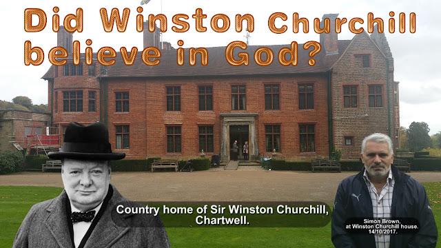 Did Winston Churchill believe in God?