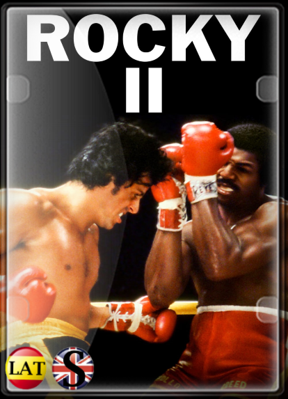 Rocky II, La Revancha (1979) FULL HD 1080P LATINO/INGLES