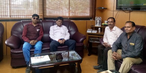 रतलाम मण्डल रेल प्रबंधक से मिले रेलवे सुरक्षा समिति के सदस्य बताई समस्या