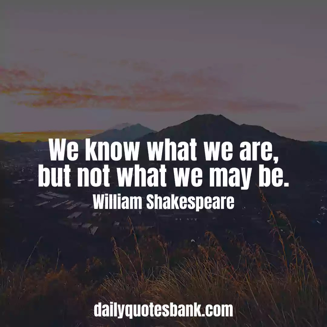 Short Shakespeare Quotes On Life Lessons