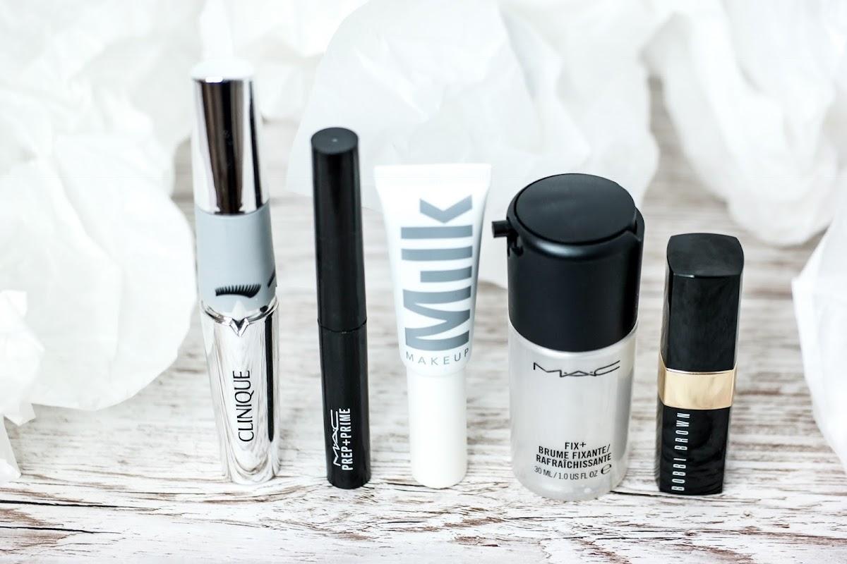 Lippenstift, Mascara, Fix+ Lippenprimer