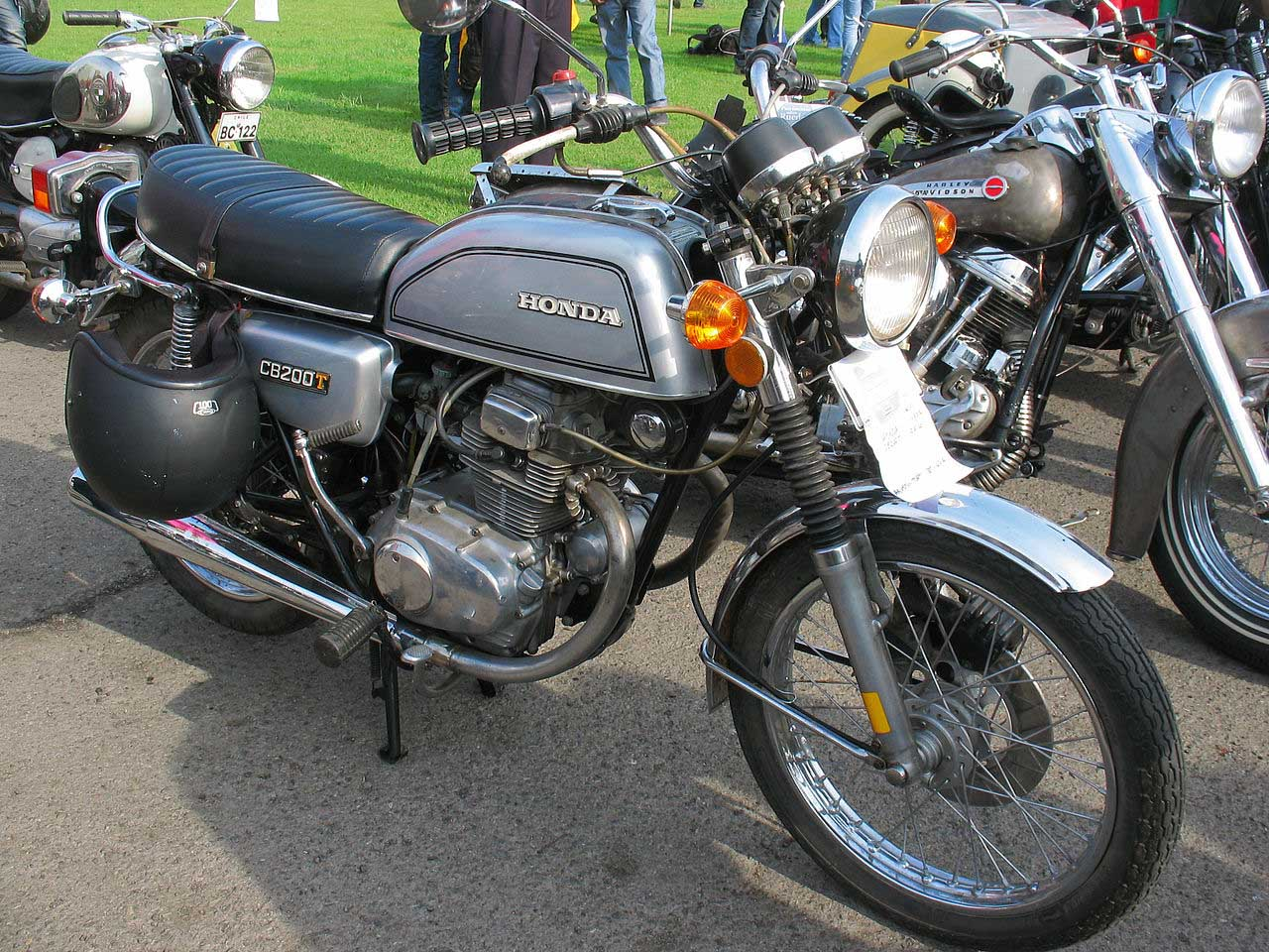 Sejarah Honda CB200 Twin KustomGaras
