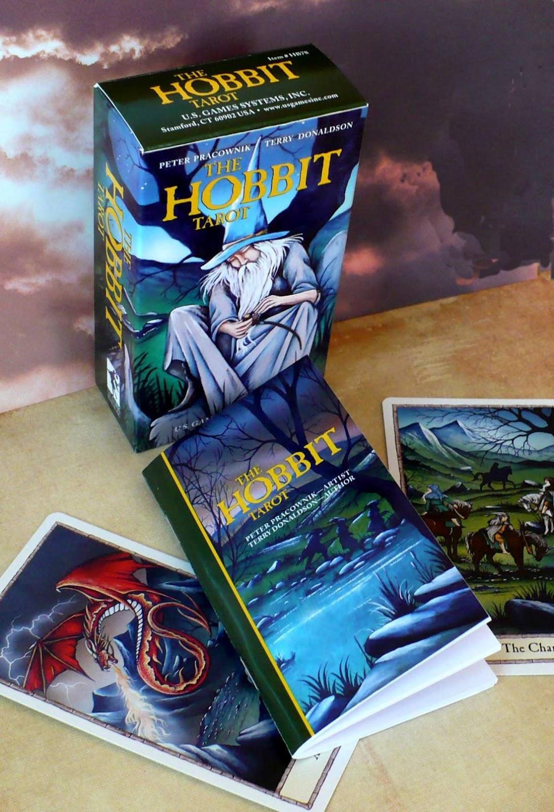 Tarot Notes A Journey Through My Tarot Decks The Magician: Tarot Notes: REVIEW: The Hobbit Tarot