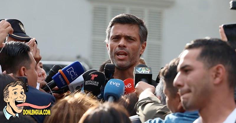 Fuga de Leopoldo Lopez hacia España causa diversas reacciones a los venezolanos