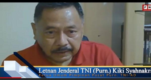 Kasus Ciracas, Letjen Kiki Syahnakri Singgung Jiwa Korsa TNI