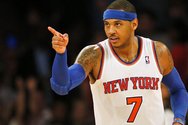 Les Knicks reçoivent Utah en ce dimanche 6 Novembre, avec Carmelo Anthony.