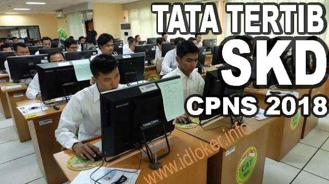 Tata tertib peserta SKD CPNS 2018