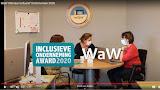 WaW wint de Award Inclusieve Onderneming 2020