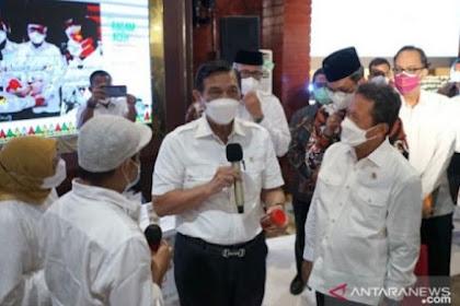 BREAKING NEWS! Luhut: PPKM Diperpanjang sampai 20 September, Bali Turun Level 3