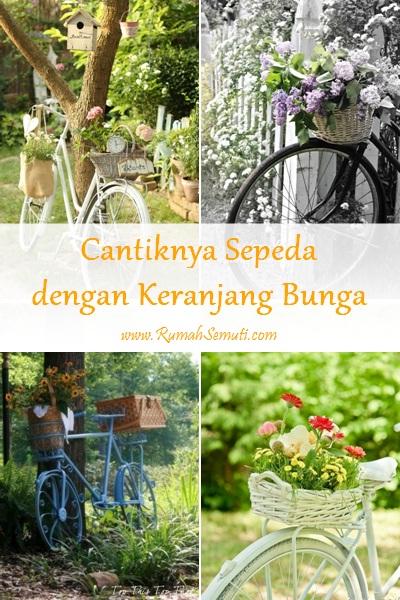 Cantiknya Sepeda dengan Keranjang Bunga (21 foto)