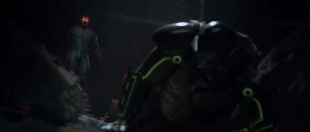 Momento em que Batman peidou pesado
