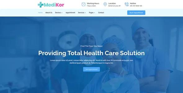 Best Medical Healthcare Elementor Template Kit
