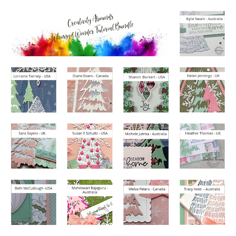 Creativity Abounds Whimsy & Wonder Tutorial