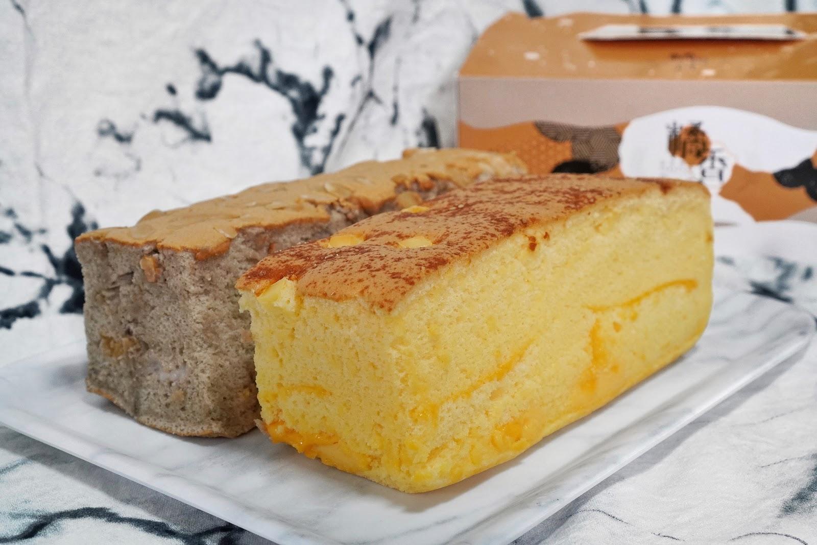 台南中西區美食【橘香合-蛋糕職人】古早味蛋糕香濃起司
