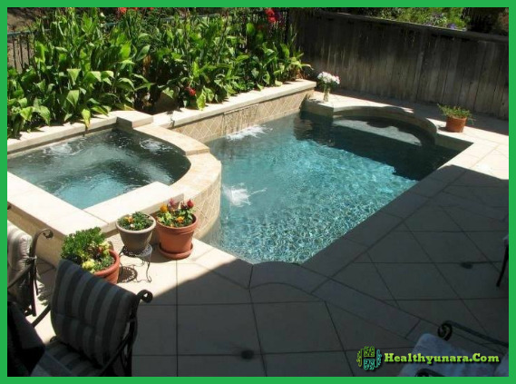 Mini Pool Decoration For Home Backyard