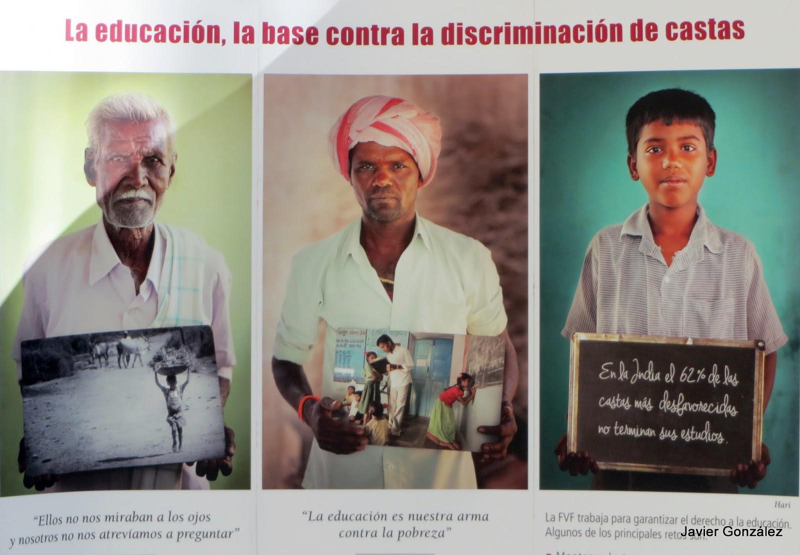Fundación Vicente Ferrer. Exposición el futuro empieza hoy