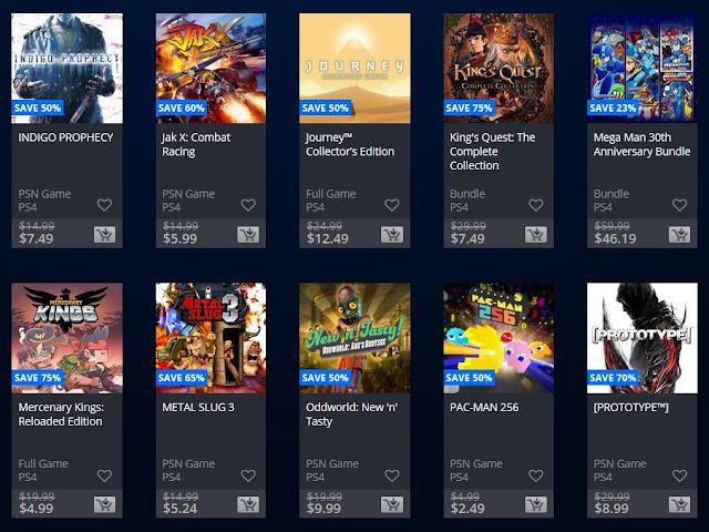 خصومات جديدة على متجر PlayStation Store الأمريكي و قائمة من الإصدارات الكلاسيكية بسعر مناسب