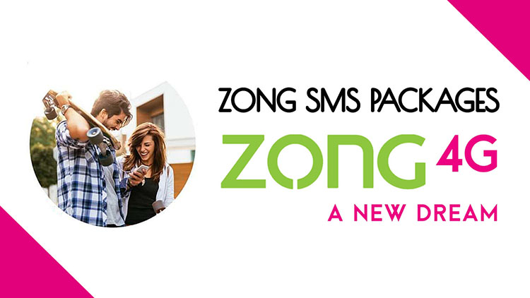 Zong Daily Weekly Monthly Sms Packages 2020