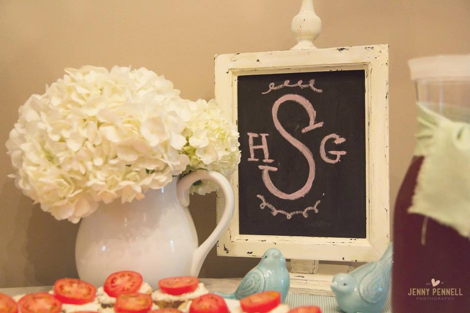 Shaw Avenue lifestyle blog, baby girl baby shower ideas. Monogrammed plates, circuit crafts, and more ideas