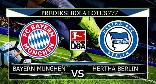 PREDIKSI BOLA BAYERN MUNCHEN VS HERTHA BERLIN 17 AGUSTUS 2019