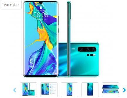 Smartphone Huawei P30 Pro 256GB Aurora 4G 8GB RAM