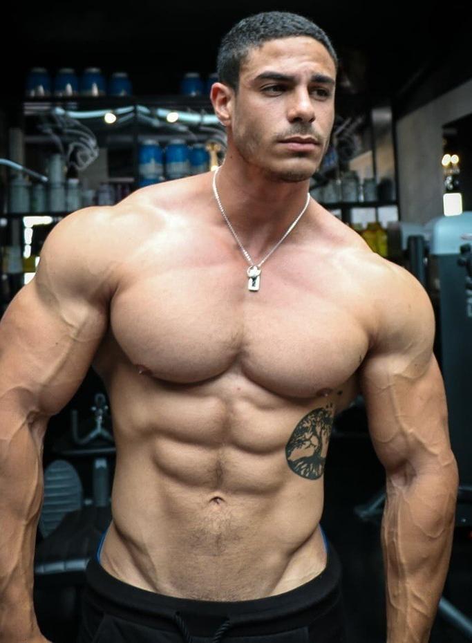 most-attractive-batenders-night-club-shirtless-men-straight-muscular-hunks-huge-pecs