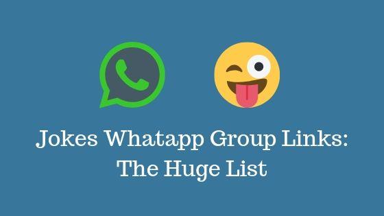 Jokes Whatapp Group Links